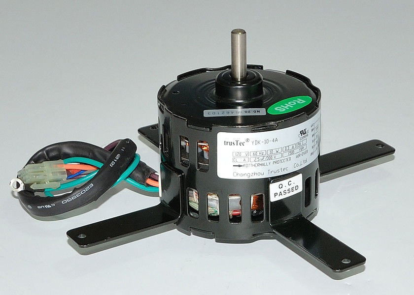 "1550 RPM 3.3 "" 4 Pole Motor For Fan Blower Single Phase Asynchonous Capacitor Running"