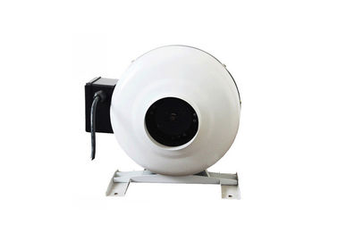 ประเทศจีน 150mm inline centrifugal duct fan, 6 inch inline air duct extractor fan 400 cfm โรงงาน